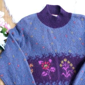 United colors of Benetton vintage mohair sweater
